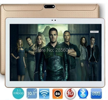 Tablet pc 10 pulgadas quad core 3g wcdma teléfono pad 1280*800 wifi fm gps de la tableta de 2 gb + 16 gb