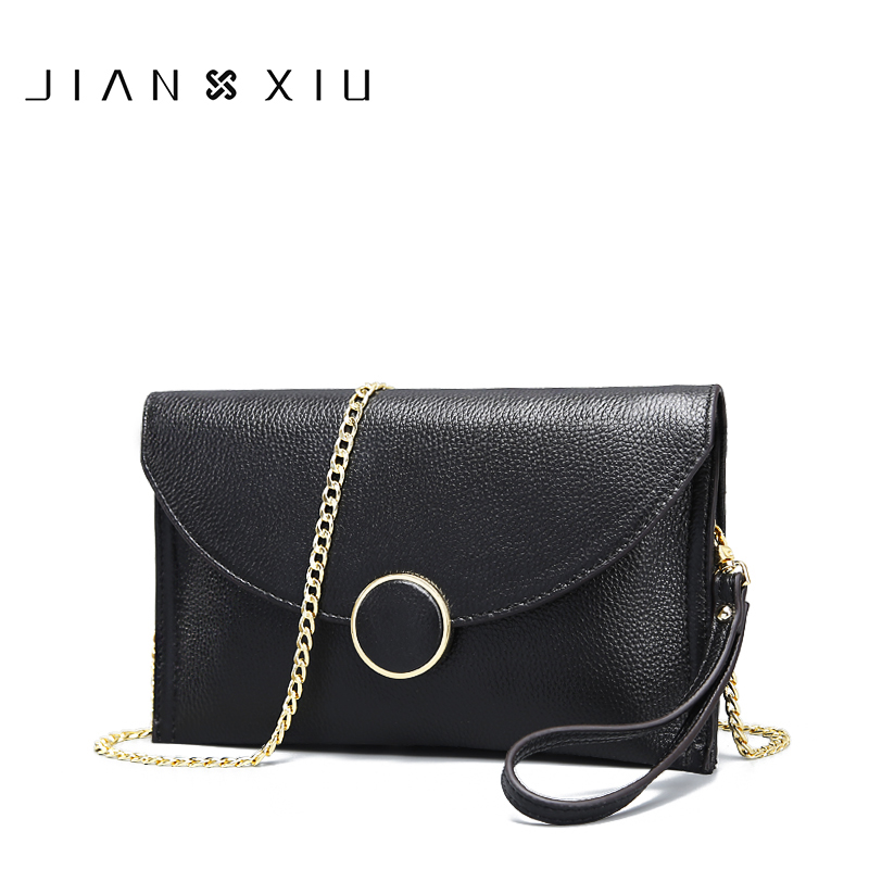 Women Messenger Bags Genuine Leather Bag Bolsa Bolsos Mujer Sac a Main Borse Bolsas Feminina Shoulder Crossbody Chain Clutch Bag