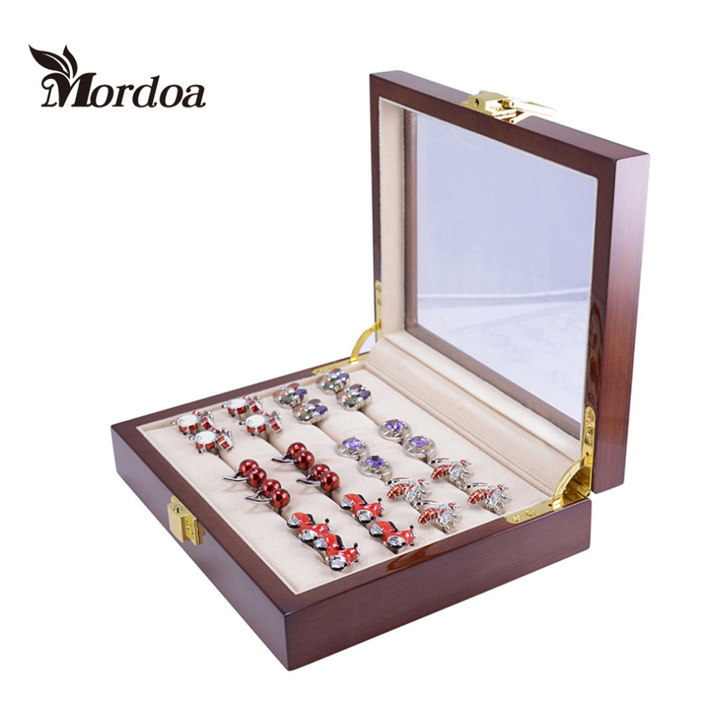 2016 Year New Top Grade Jewelry Display Casket Jewelry Organizer font b Earrings b font Ring