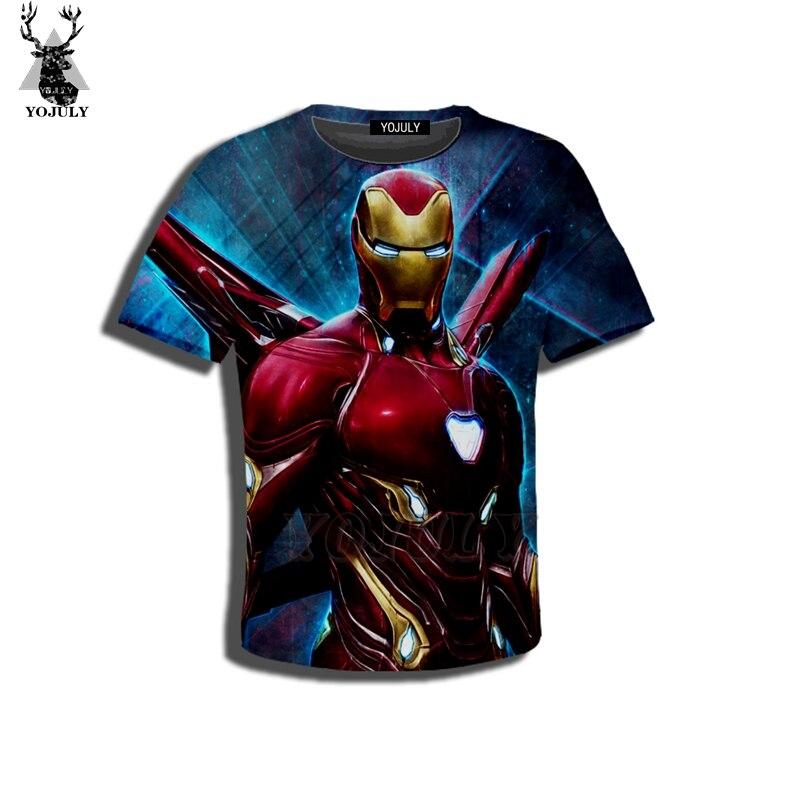 YOJULY 3D Print Kids Avengers:Endgame Iron …