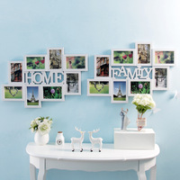 6 Inch Home Decoration DIY Photo Frame Sets For Wall Huge Family Picture Frame Europe Style