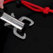 Portable Fishing Gripper Stainless Steel Fish Lip Grabber Powerful Grip Trigger Ice Sea Fishing Tackle Gear Accessory