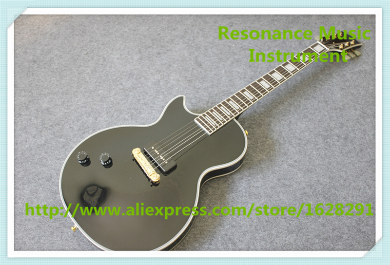 China Left Handed Black Beauty LP Electric Guitars Mahogany Body & Kit Custom Available цены