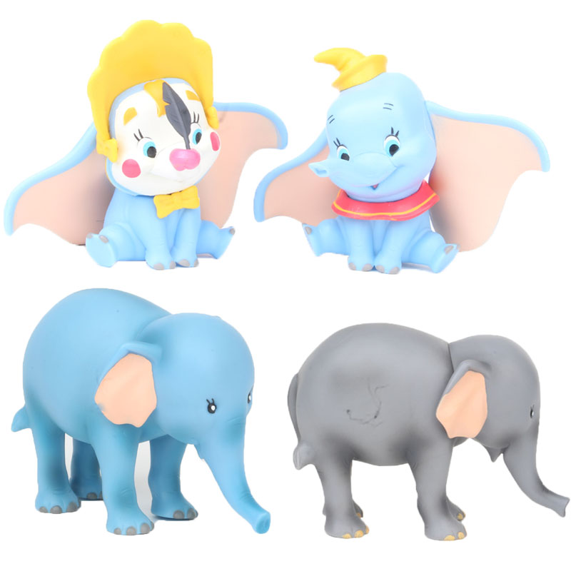 Disney Dumbo 10cm Doll Action Figure Posture Anime Decoration Collection Figurine Toys Model For Children Best GiftDisney Dumbo 10cm Doll Action Figure Posture Anime Decoration Collection Figurine Toys Model For Children Best Gift