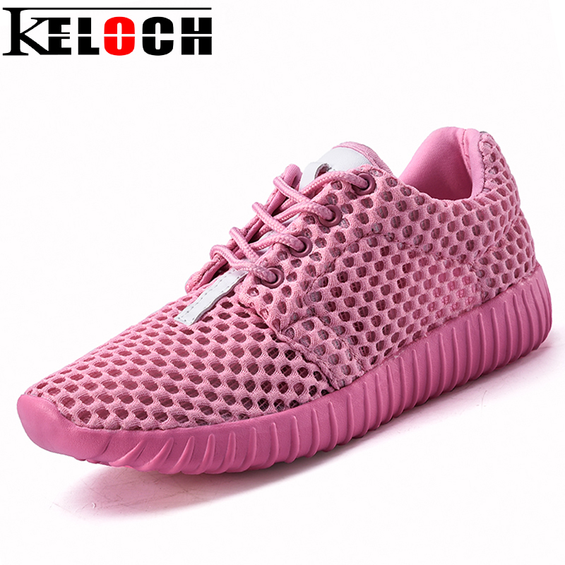Keloch 2017 New Summer Zapato Women Breathable Mesh Zapatillas Shoes For Women Network Soft Casual Shoes Flats new summer zapato women breathable mesh zapatillas shoes for women network soft casual shoes wild flats casual