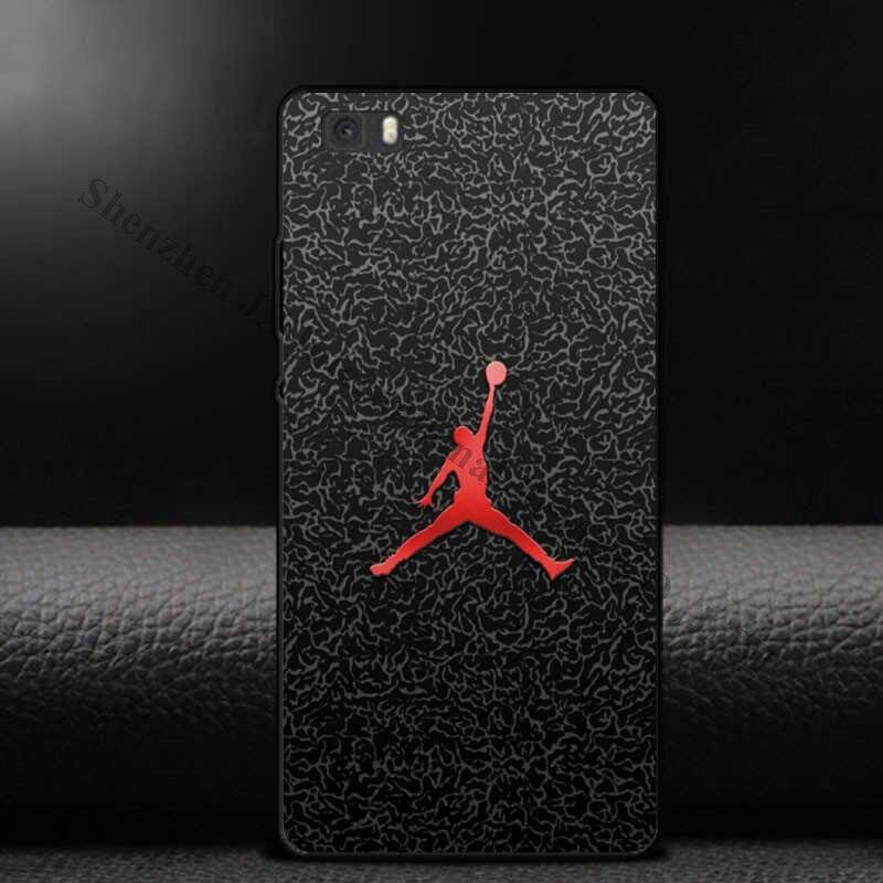 Filecase для Huawei Ascend P8 P9 Lite плюс P7 Чехлы для мангала <font><b>NBA</b></font> Баскетбол плеер Jordan Леброн полета Человек Pattern Жесткий PC телефонные чехлы