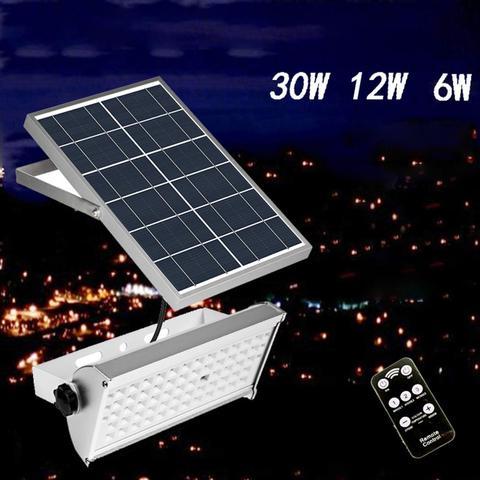 6 w 12 w 30 w lampada solar night light sensor de movimento a prova