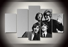 Famous Band poster canvas wall artworks multi pictures combination HD portrait for music Festival decoration