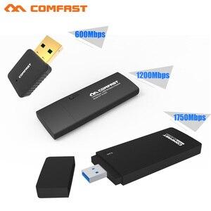 Image 2 - 長距離デュアルバンド 2.4 グラム 5 グラムワイヤレス usb 無線 lan アダプタ 600/1300 150mbps 802.11ac/b/ g/n 無線 lan usb USB3.0 wi fi ドングル usb ネットワークカード