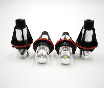 Reflektory samochodowe 2 sztuk dla BMW E39 E53 E60 E61 E63 E64 E65 E66 E87 525i 530i xi 545i M5 wolne od błędów LED Angel Eyes światła sygnalizacyjne żarówki tanie i dobre opinie Car Flashing CN (pochodzenie) 6000 k 10W set