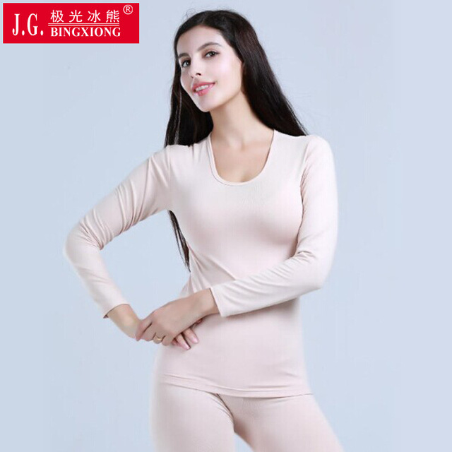 5c4ce3dbd11a ladies body plastic thermal underwear set thick Hot Sale Winter Warm Long  Johns Pant Sexy Slim Comfortable Tight Body Shaper