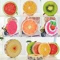 Alta Qualidade 3D Criativo Frutos do Verão Almofada Do Sofá Jogar Travesseiro Almofada de Pelúcia Curto Colorido Crianças Brinquedos Presentes de Aniversário Do Partido