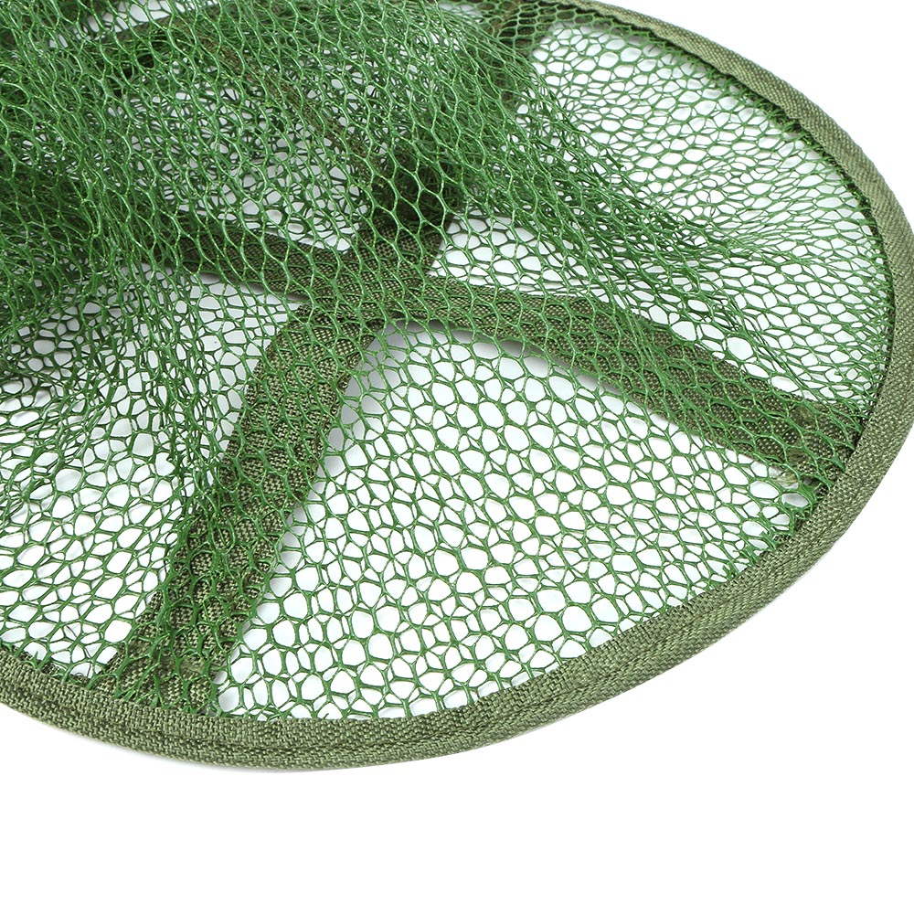 Portable Collapsible Mesh Fishing Net Cage Fish Trap Fishing Basket for Keeping Fishes/Smelt/Minnows/Crab/Shrimps/Lobsters