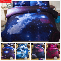 New HD 3d bed linens duvet cover set cotton bedding set Single Full Queen Size 2/3/4pc adult bedclothes Quilt Comforter Case Boy