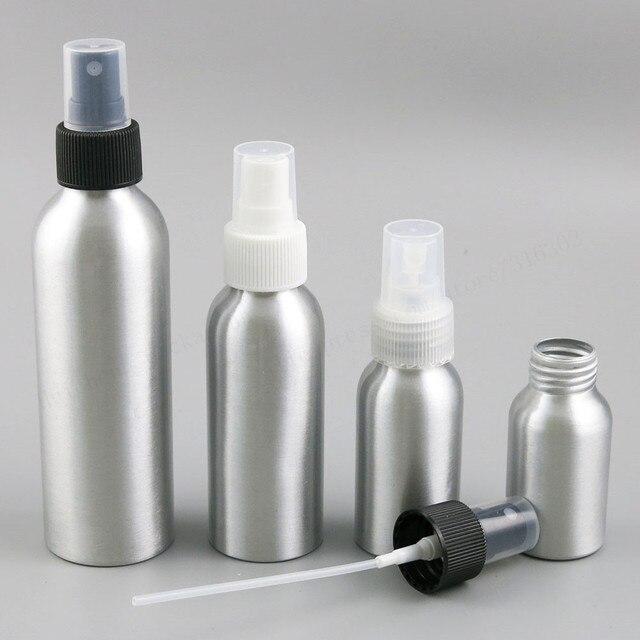 c2c2310935c8 US $25.39 8% OFF|24 x Aluminium Essential Oil Spray Bottle Refillable  Perfume Fine Mist Atomiser Empty Beauty Metal Spray Bottles 30ml 50ml  100ml-in ...