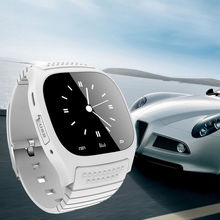 FSTONG Smartwatch Reloj Bluetooth M26 4.0 Reloj de la Pantalla Táctil para Podómetro Ios Android Smart Watches Smartphone SWM26