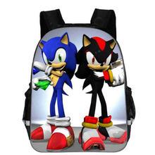 13 Cal Super Mario plecak dla dzieci Cartoon Sonic plecaki dla chłopców dziewcząt tornister dla przedszkole codzienny plecak dla dzieci BookBag tanie tanio Miękki uchwyt Wnętrza przedziału Kieszeń na telefon komórkowy Wewnętrzna kieszeń Wnętrze slot kieszeń NYLON Moda