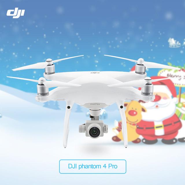 En stock original dji phantom 4 pro drone con 4 k hd cámara 1 pulgadas 20MP CMOS 5 Dirección Obstáculo Sens Quadcopter Phantom 4 P