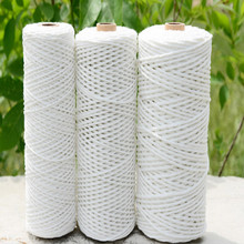 cotton rope macrame cord string diameter 0.6mm 0.8mm 1mm 1.2mm 1.4mm 1.6mm 1.8mm 2mm 1KG/lot free shipping