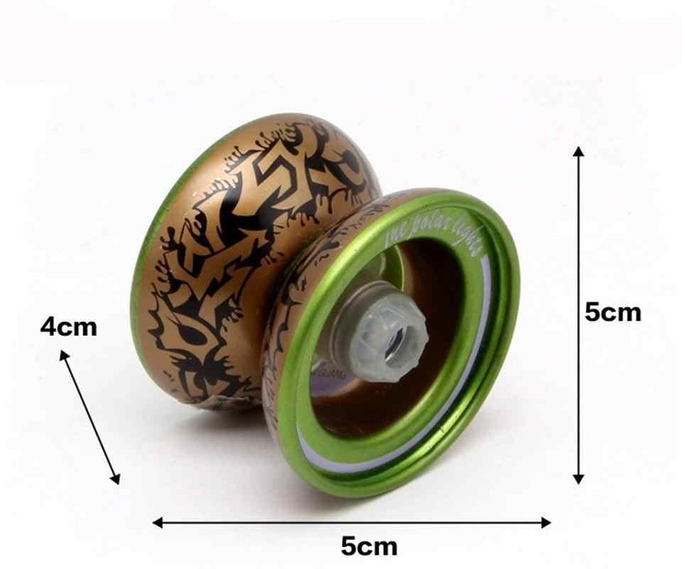 1 шт Профессиональный Йо-Йо Ручной игровой мяч Йо-Йо высокое качество металлического сплава с йо-йо Классические игрушки Diabolo Подарочные игрушки для детей