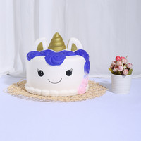 Slow Rising New Kawaii Ice Cream Jumbo Cake Squishy Toys For Children Slow Rising Toys Antistress Decor Cake Squishies Food 5.14