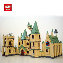 IN Stock LEPIN 16030 1340pcs Harry Potter Hogwart's Castle Building Blocks Kit Set Building Blocks Bricks Toys Fit For 4842(China)