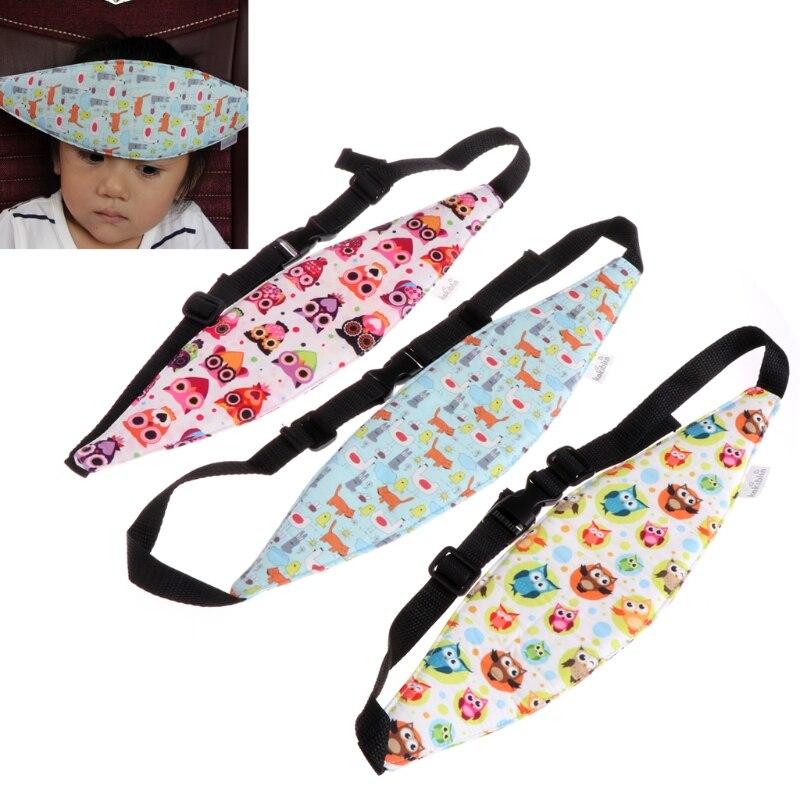 Safety Baby Kids Stroller Car Seat Sleep Nap Aid Head Fasten Support Holder Belt -B116
