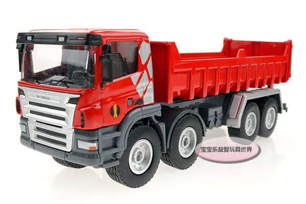 Free shipping-Heavy dump truck/alloy model car / puzzle toy Christmas gift car electronics