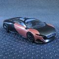 High Simulation Exquisite 1:64  Peugeot Onyx Diecast car Collection Model Gift