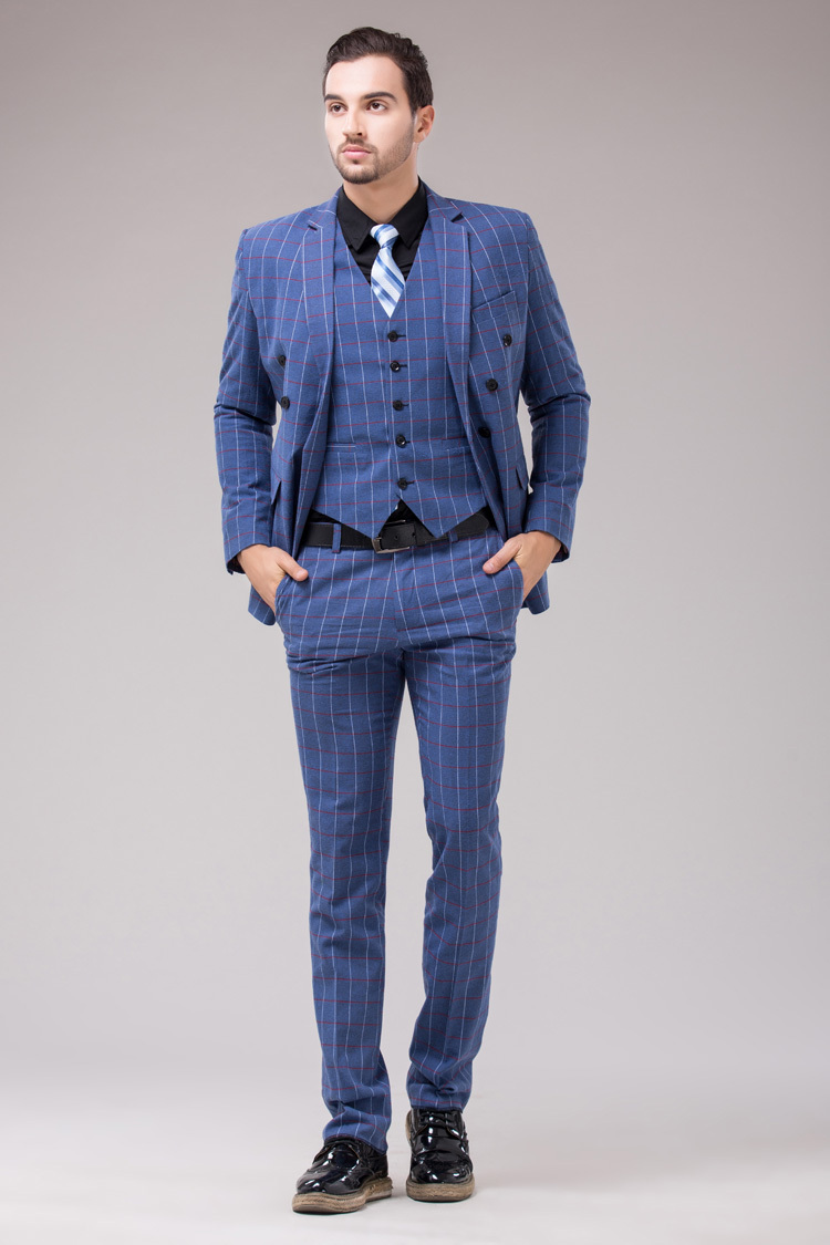 Popular British Plaid Men Suit-Buy Cheap British Plaid Men Suit ...
