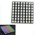 8x8 64 LED Матрица WS2812 ПРИВЕЛО 5050 RGB для Arduino FZ1104