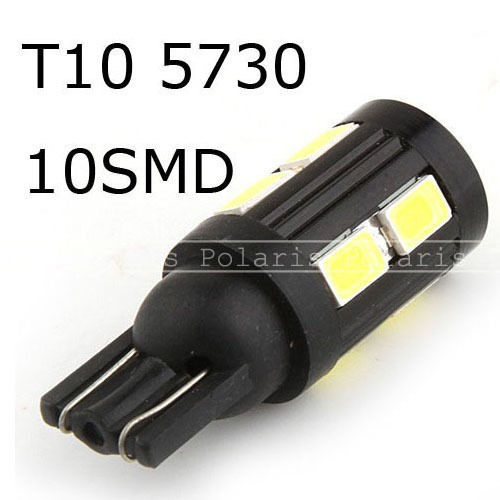 200lm T10 W5W 168 Car 10 5730 5630 SMD car LED Tail Signal Light Lamp Bulb White for hot sale
