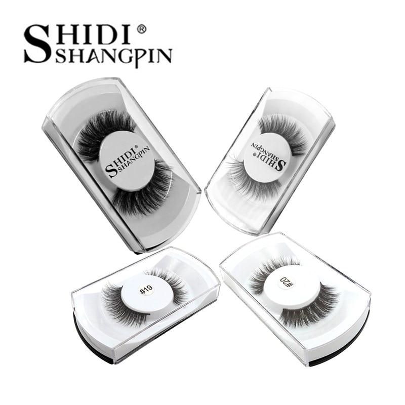 100% Mink Eyelashes Thick 3D Mink Lashes False Eyelashes Handmade Reusable Natural Long False Eyelash Extensions 20 Boxes Lashes