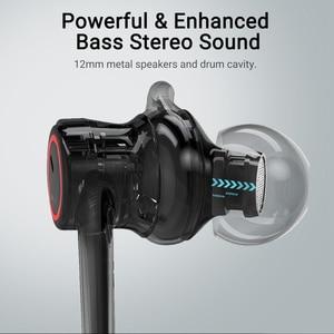 Image 3 - Auriculares Bluetooth Langsdom L80, auriculares inalámbricos con bajos de alta fidelidad IPX6, auriculares inalámbricos deportivos a prueba de agua, auriculares bluetooth