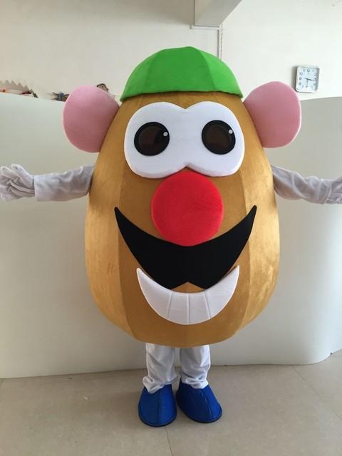 mr potato head mascot costume vegetable eggplant mascot costume