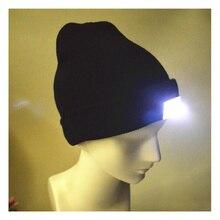 5 светодиодный супер яркий светящийся головной убор Темный на природе Рыбалка походы налобный фонарь для охоты шапки светящаяся шапка Санты Клауса для унисекс