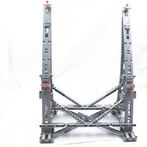 Image 3 - MOC אנכי תצוגת Stand עבור המילניום פלקון תואם עם לגו עבור No.75192 אולטימטיבי אספן של דגם בלוקים