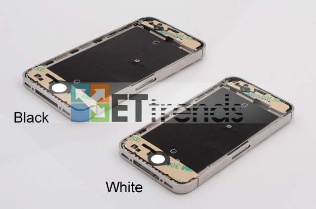 Metal Middle Plate Assembly (BlackWhite) for iPhone 4S  (3).jpg