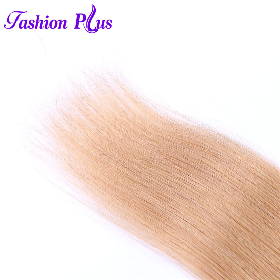 Fashion Plus Pure Color Brasiilia ombre sirged juuksed kimbud # 27 # - Inimeste juuksed (valge) - Foto 3