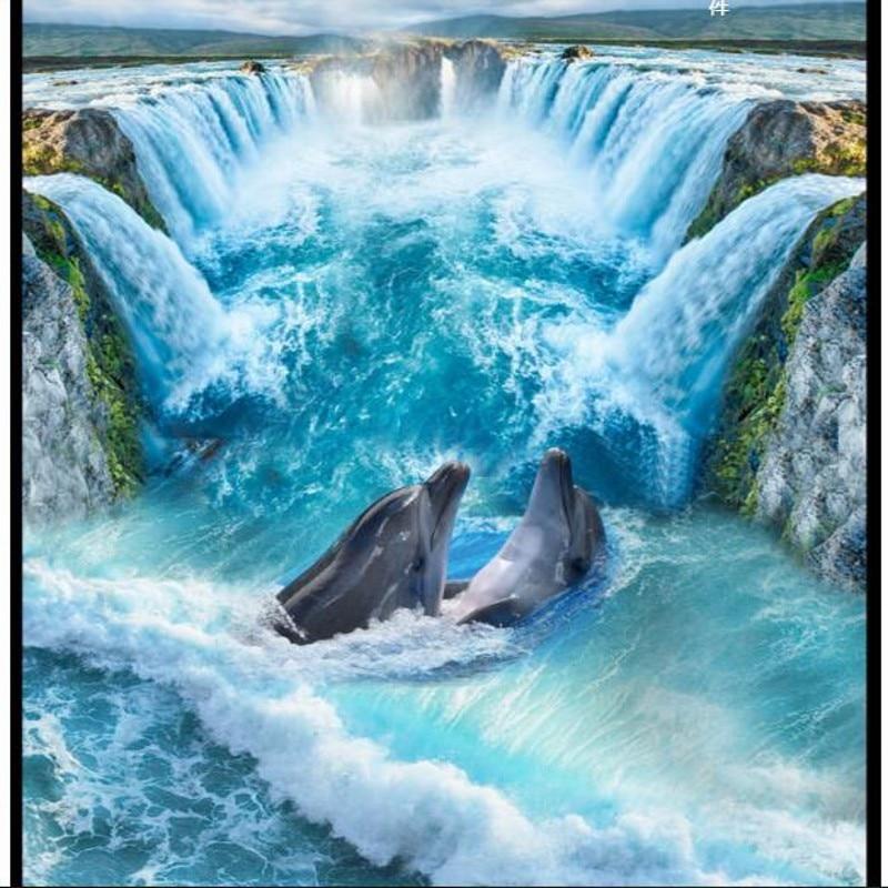Custom Personality Ultra High Definition Waterfall