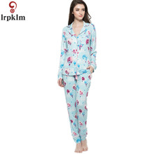 Good Quality 2017 Summer Autumn Women's Cotton Pajama Sets Tops And Pants/Shorts Female Pyjamas Ladies Pijamas SY301