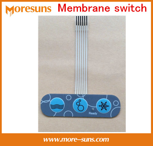 Fast Free Ship 20pcs/lot Custom Made membrane switch/membrane panel/PVC membrane overlay touch panel switch