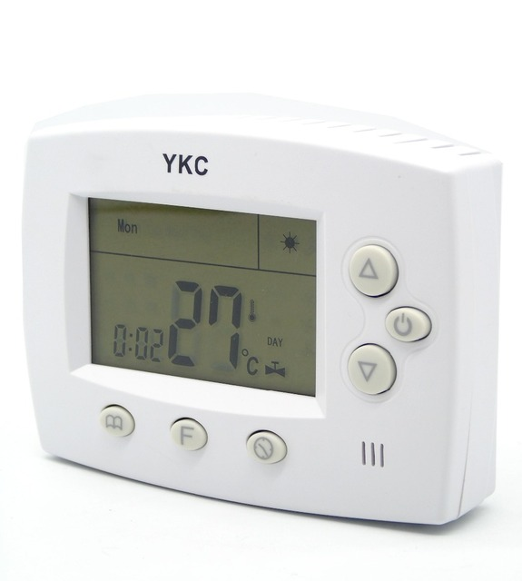 Digitale Batterie Powered Programmierbare Thermostat Gas Wand