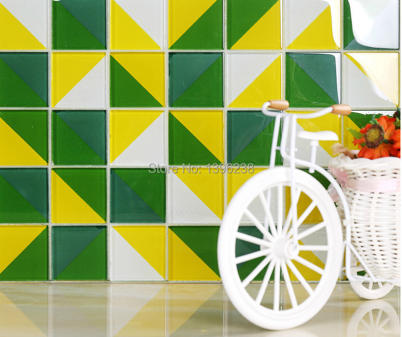 3D Green Glass mosaic wall tile,kitchen/Bathroom/TV backwall tile luxury glass wall tiles subway decorative art design,LSTC021 rose gold stainless steel metal mosaic glass tile kitchen backsplash bathroom background decorative art mosaic wall tile sa073 9