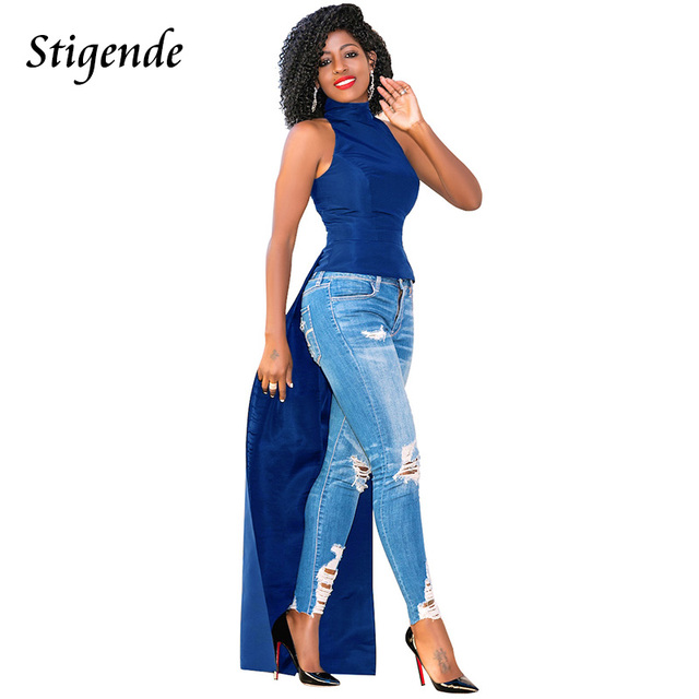 Stigende Sleeveless Tunic Dress Women Casual Summer Sundress High Split Long  Shirt Dress Open Front Turtleneck Maxi Dresses 6420565ef2fa