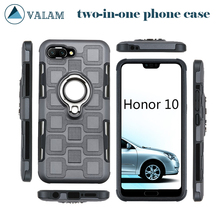 Shockproof Holder Cases Cover For Huawei honor 10 Case Luxury Bumper Honor two-in-one phone case