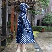 Raincoat women Men poncho waterproof long dots,Outdoors Rain Coat Ponchos Jackets Female cloak Chubasqueros Mujer