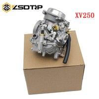 ZSDTRP Motorcycle Carburetor Aluminum Carb For Yamaha Route 66 Virago 250 XV250 1988 2014 89 02 11