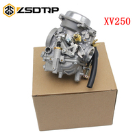 ZSDTRP Motorcycle Carburetor Aluminum Carb For Yamaha Route 66 Virago 250 XV250 1988 2014 89 02 11