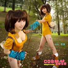 The Seven Deadly Sins Diane Jumpsuits Set Cosplay Costume M006